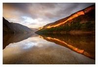 Wicklow - Glendalough Upper Lake Sunrise