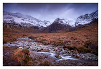 The Black Cuillin Mountains - Isle of Skye